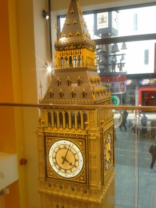 large lego Big Ben