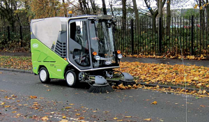 picture of street cleaning machine