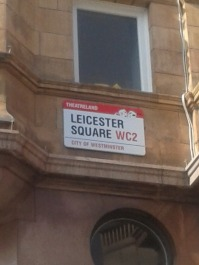 street name leicester square